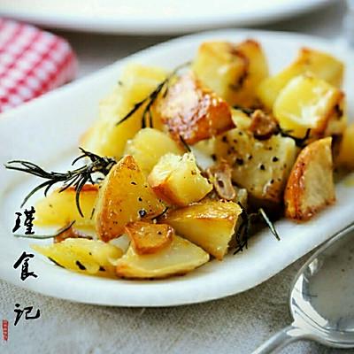 低卡零食-脆皮烤土豆