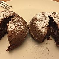 爆浆巧克力蛋糕#豆果5周年#