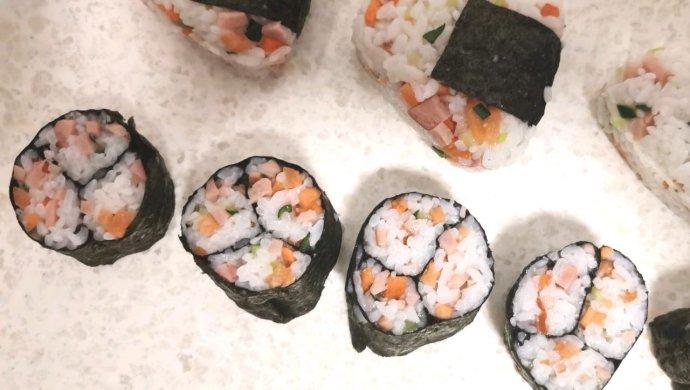 最简单的的寿司做法