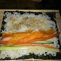 寿司    (紫菜包饭)的做法图解3