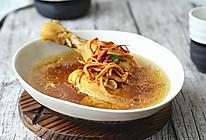 虫草花炖鸡汤【九阳铁釜饭煲】的做法