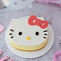 8寸KT猫芒果慕斯蛋糕的做法图解22