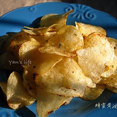 韩国爆火的_蜂蜜黄油薯片