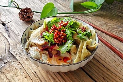 天津传统早餐-锅巴菜