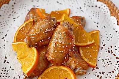 烤箱菜·烤橙香鸡翅