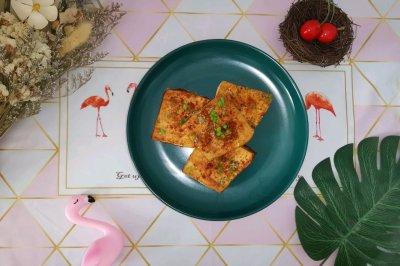 烤豆腐(无油版减脂菜单)