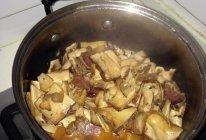 腊肉炖腊干的做法