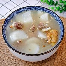 #相聚组个局#白萝卜排骨汤这么做,清甜不油腻