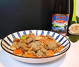 蚝油牛肉#李锦记旧庄蚝油的做法