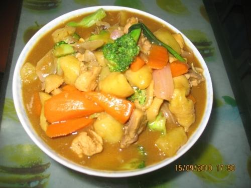 澳门美食:自制咖喱鸡的做法