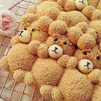 萌你一脸的泰迪熊挤挤面包的做法图解16