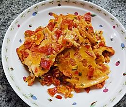 西红柿香葱鸡蛋饼的做法