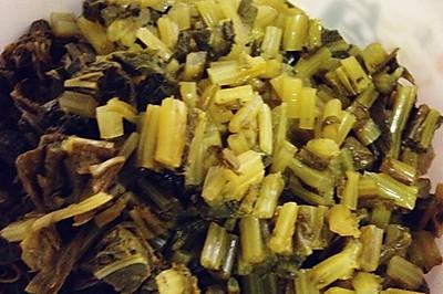 张家界水酸菜(零厨艺的人都会哦)