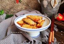 馄饨皮香烤嫩肉卷#硬核食谱制作人#的做法