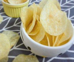#夏日撩人滋味#自制炸薯片的做法