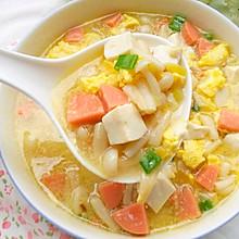 #植物蛋 美味嘗鮮記#鮮香濃郁的菌菇豆腐湯
