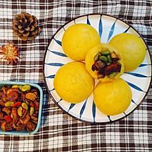 毛豆虾米杂酱配窝头——解锁玉米面窝窝头新吃法