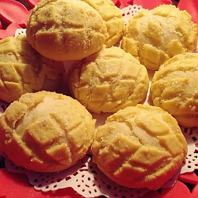 日式蜜瓜面包 菠萝包(非入门级)