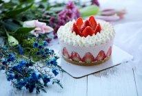 草莓可可慕斯蛋糕的做法