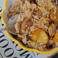 #味达美名厨福气汁,新春添口福#板栗焖鸡饭的做法图解11