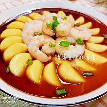 清蒸豆腐蛋虾羹