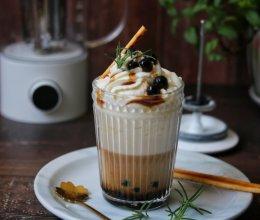 珍珠雪顶奶茶的做法