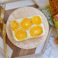 橙香蒸蛋糕#金龙鱼营养强化维生素A 新派菜油#