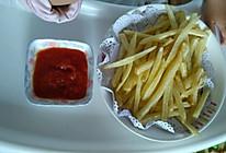 自制番茄酱和炸薯条的做法