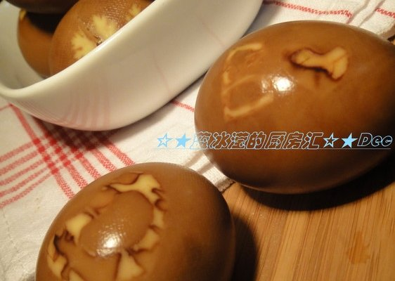 "中国式""剩蛋""节の花样卤蛋的做法"