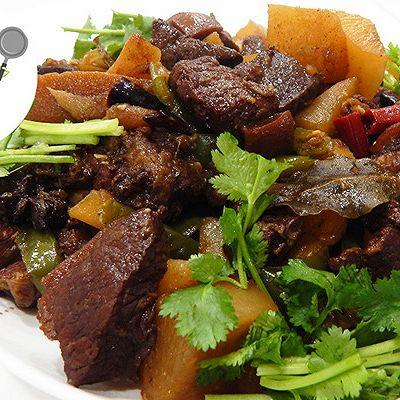 冬季暖身美食,羊肉燉蘿卜這樣做才能沒騷味!--威廚藝