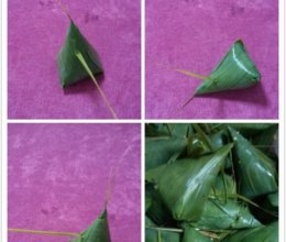 肉粽飘香的做法