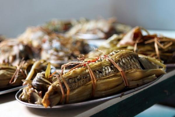 鱼包韭菜的做法