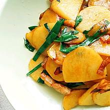 #不容错过的鲜美滋味#家庭版干锅土豆片