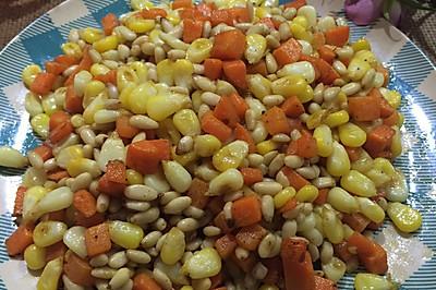 松仁玉米胡萝卜丁