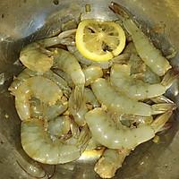 超级简单的家庭烤虾的做法图解3