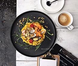 咖喱海鲜烩饭#百梦多圆梦季#的做法