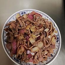 蚝油洋葱牛肉丝