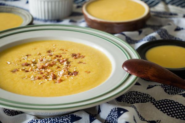 一碗根本不够的红薯浓汤的做法