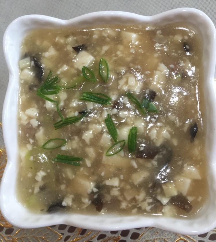 加入炒菜临锅时煲汤提鲜不口干牛肉豆腐羹的做法时间本步骤青笋烧兔菜谱图片