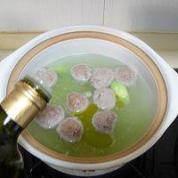 菌菇莴笋牛肉丸汤的做法图解7