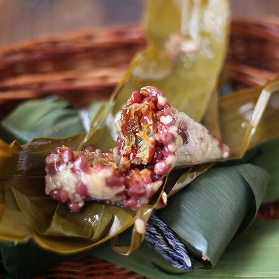 紅豆蜜棗粽子