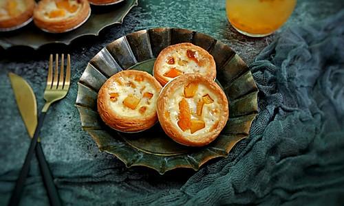 快手芒果蛋挞的做法