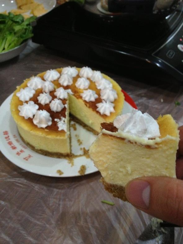 DIY芝士蛋糕