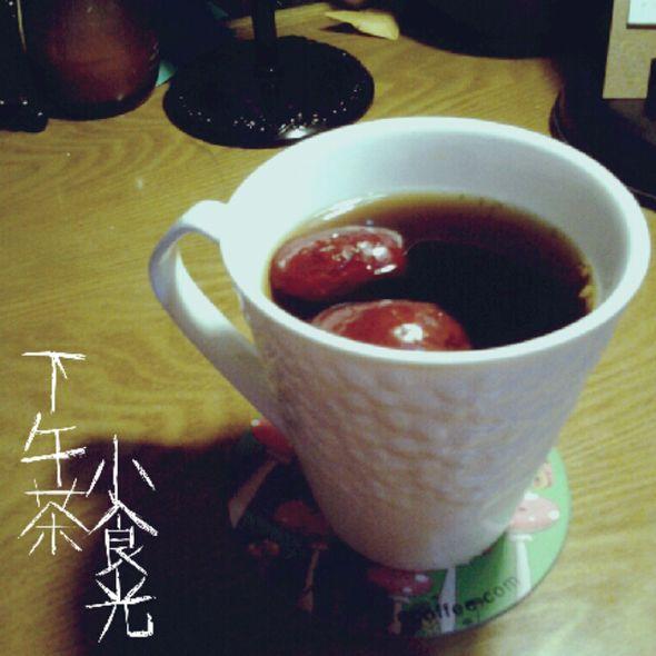 黑糖红枣茶