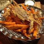 墨西哥红薯条加椒盐软蟹