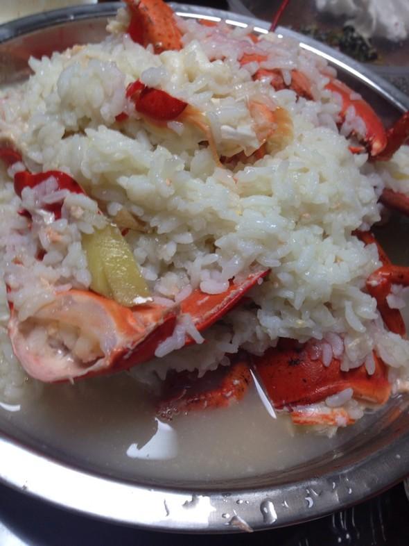 大龙虾,龙虾泡饭,大钳子