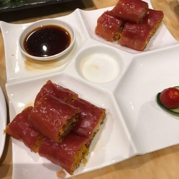 金莎鲜虾红米肠粉