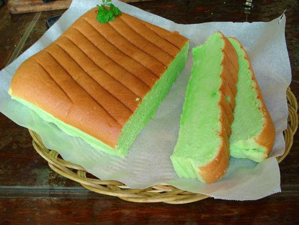 极致柔软口感--斑斓叶日本棉花蛋糕图片
