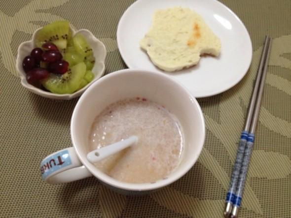早餐荧光手写素材