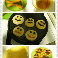 笑脸南瓜饼